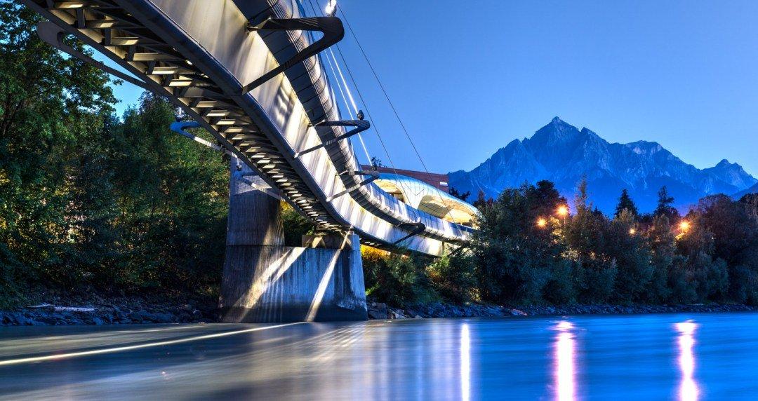 Innbrücke der Hungerburgbahn, Innsbruck